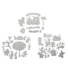 Sizzix® Thinlits Floral Sentiment Die Bundle