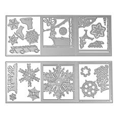 Sizzix® Tri-Fold Winter Die Bundle