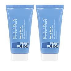 Skinn® Cosmetics 2-pack Fruit Fusion Berry Pure Mask