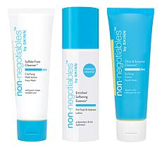 Skinn® Cosmetics 3-piece Non-Negotiables Facial Cleanser Set