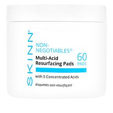 Skinn® Cosmetics Non-Negotiables Multi-Acid Resurfacing Pads