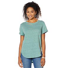 Skinnygirl Daphne High-Low Tee with Cutout