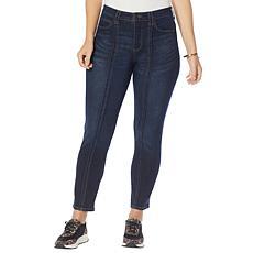 Skinnygirl December High-Rise Slim Straight Jean