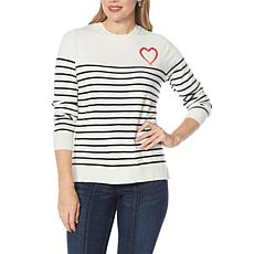 Skinnygirl Elizabeth Novelty Sweater