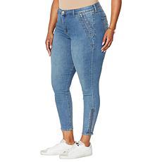 Skinnygirl Ingrid Skinny Jean with Zipper Details