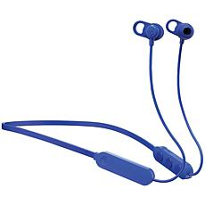 Skullcandy Jib+ Wireless In-Ear Earbuds with Microphone - Blue