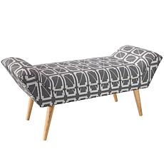 Skyline Furniture Modern Welted Bench