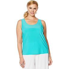 Slinky® Brand 2-pack Solid Basic Knit Tank Tops