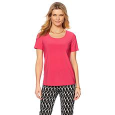 Slinky® Brand 2pk Short-Sleeve Knit Tees