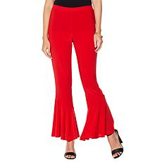 Slinky® Brand 2pk Solid Knit Pant with Ruffle Hem