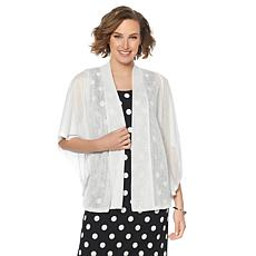 Slinky® Brand Butterfly-Sleeve Knit Jacket