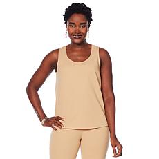 Slinky® Brand Luxe Crepe Basic Tank Top