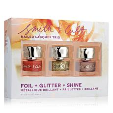 Smith & Cult Holiday Nail Trio 2 with Makeup Pouch