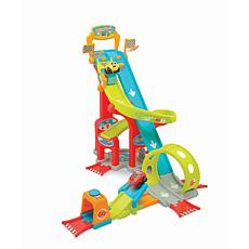 Smoby Vroom Planet Car Track With Launch Pad