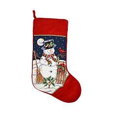 Snowman Stocking
