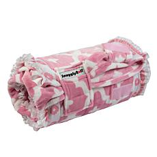SnugglyRoll Premium Plush All-In-One Pillow and Blanket