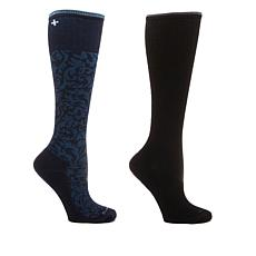 Sockwell Damask Compression Socks 2-pack