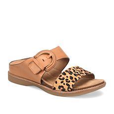 Sofft Braye Leather Slide Sandal