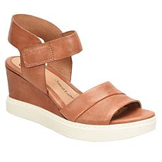 Sofft Samyra Leather Sporty Wedge Sandal