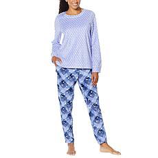 Soft & Cozy 2-piece Sueded Fleece Jogger Pajama Set