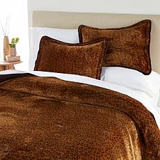 Soft & Cozy 3-piece Cheetah Comforter Set - Queen
