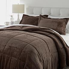 Soft & Cozy 3-piece Plush Comforter Set