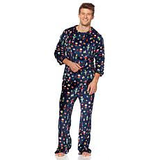 Soft & Cozy Mens Matching Holiday Pajama Set