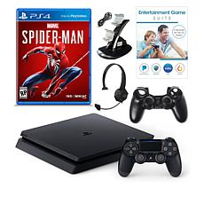 """Sony PlayStation 4 Slim 1TB Console with """"Spider-Man"""" Game"""