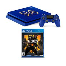 "Sony PS4 Slim 1TB Days of Play Console w/""Call of Duty: Black Ops 4"""