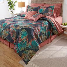 South Street Loft 12-piece Kahili Comforter Bedding Set