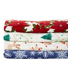 South Street Loft Holiday Printed Blanket