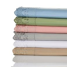 South Street Loft Microfiber 3-piece Twin Sheet Set with Lace Hem