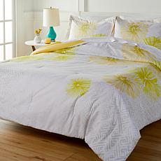 South Street Loft Sunburst 3-piece Printed Comforter Set