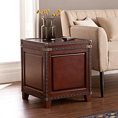 Southern Enterprises Belfast Trunk End Table