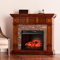 Southern Enterprises Merrimack Electric Fireplace - Oak