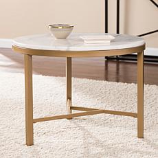 Southern Enterprises Montreux Marble Accent Table