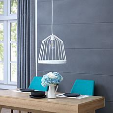 Southern Enterprises Robyn Pendant Lamp - White