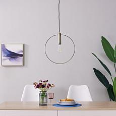 Southern Enterprises Sandlin Pendant Lamp - Round