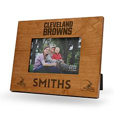 Sparo Cleveland Browns Personalized Engraved Wood Picture Frame