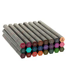 Spectrum Noir 3-in-1 Tri-Blend Brush Nib Markers 24-pack