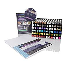 Spectrum Noir 72pc Marker Set W Trays
