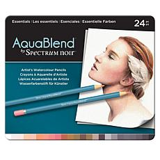 Spectrum Noir AquaBlend 24-piece Watercolor Pencil Set