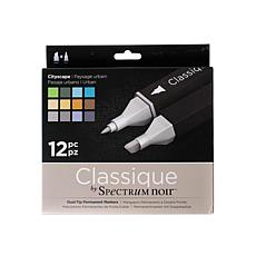 SPECTRUM Noir Classique Alcohol Markers Cityscape Set of 12