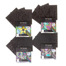Spectrum Noir Colorista Dark Paper Pads 4-pack
