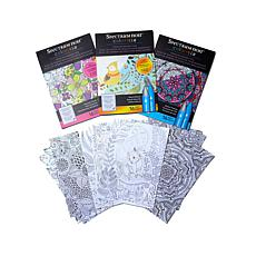 Spectrum Noir Colorista Kit Glitter & Foil 3-pack Pads