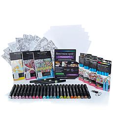 Spectrum Noir Marker Bundle w/USB & Coloring Books