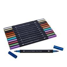 Spectrum Noir Metallic Markers 12-piece