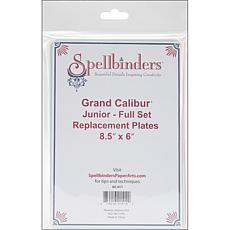 Spellbinders Grand Calibur Junior Replacement Plate Set