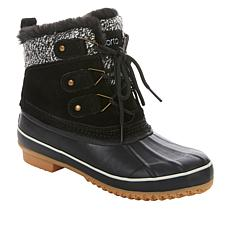 Sporto® Cassie Leather Waterproof Duck Boot