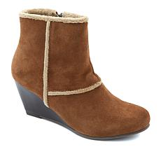 Sporto® Fringe Suede Water-Resistant Wedge Boot